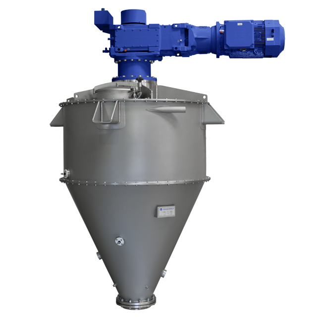 Conical Paddle Mixer